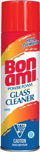 Bon Ami® Power Foam Glass Cleaner