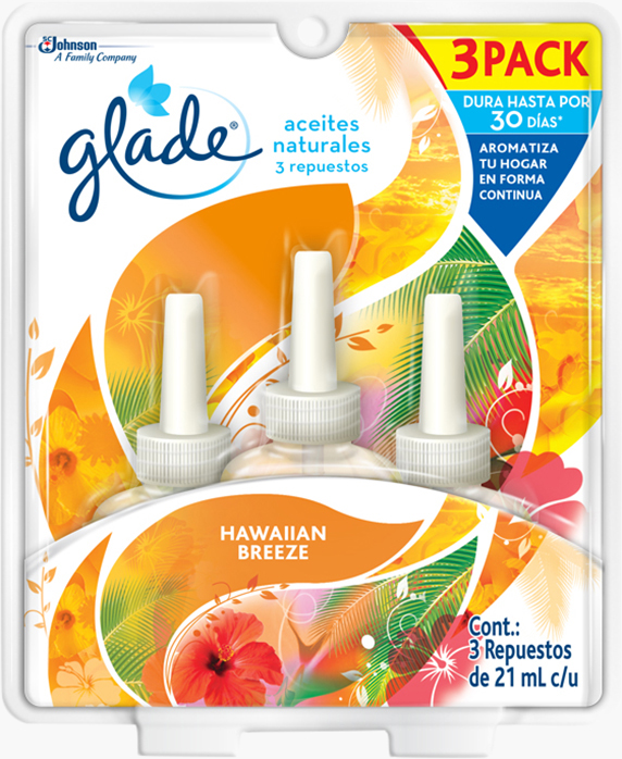 Glade® Aceites Naturales Hawaiian Breeze