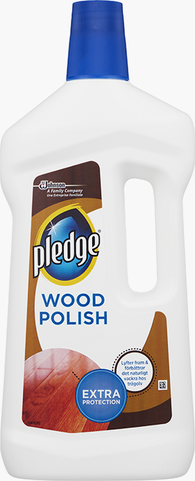 Pledge® Extra Protection Polish for Wood