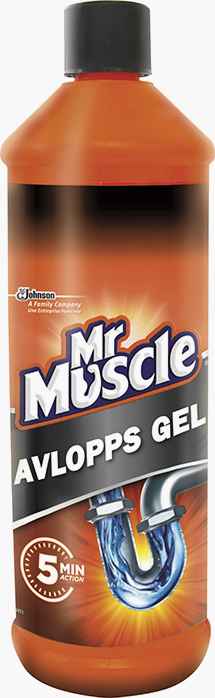 Mr Muscle® Avloppsgel