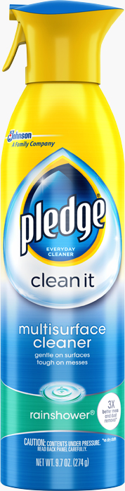 Pledge® Clean It Multisurface Everyday Cleaner Rainshower