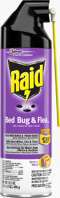 Raid® Bed Bug and Flea Killer