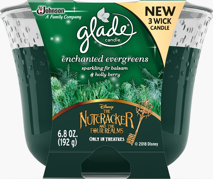 3-Wick Candle - Enchanted Evergreens