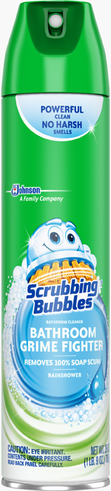 Scrubbing Bubbles® Bathroom Grime Fighter Rainshower