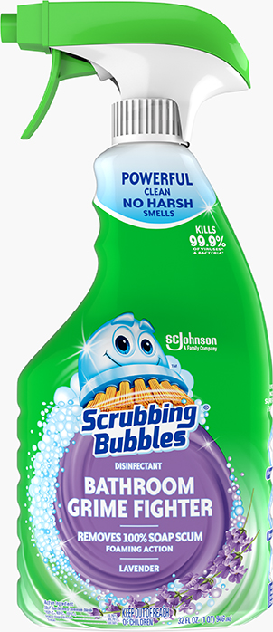 Scrubbing Bubbles® Disinfectant Bathroom Grime Fighter (Lavender)