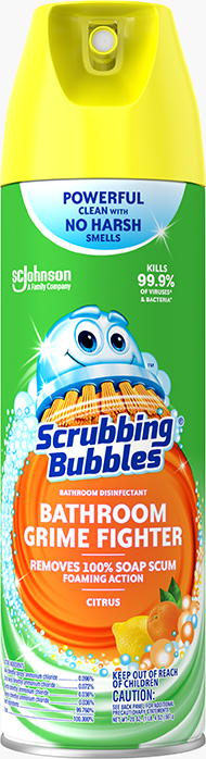 Scrubbing Bubbles® Bathroom Disinfectant Bathroom Grime Fighter (Citrus Scent)