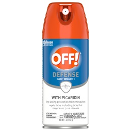 OFF!® Defense Insect Repellent 1 with Picaridin