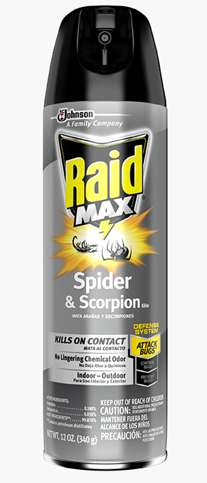 Raid® Max™ Spider & Scorpion Killer