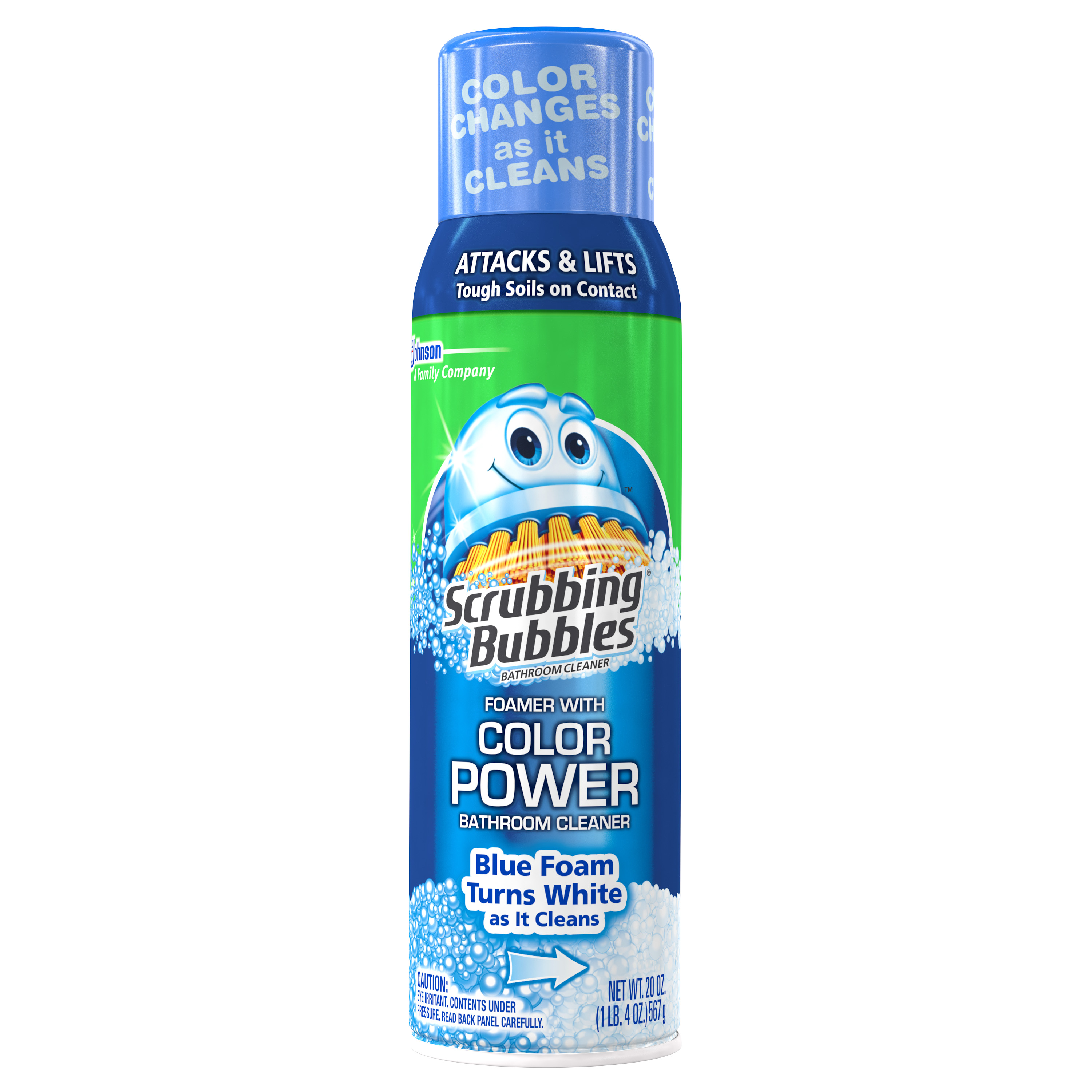 Scrubbing Bubbles® Bathroom Cleaner with Color Power Technology