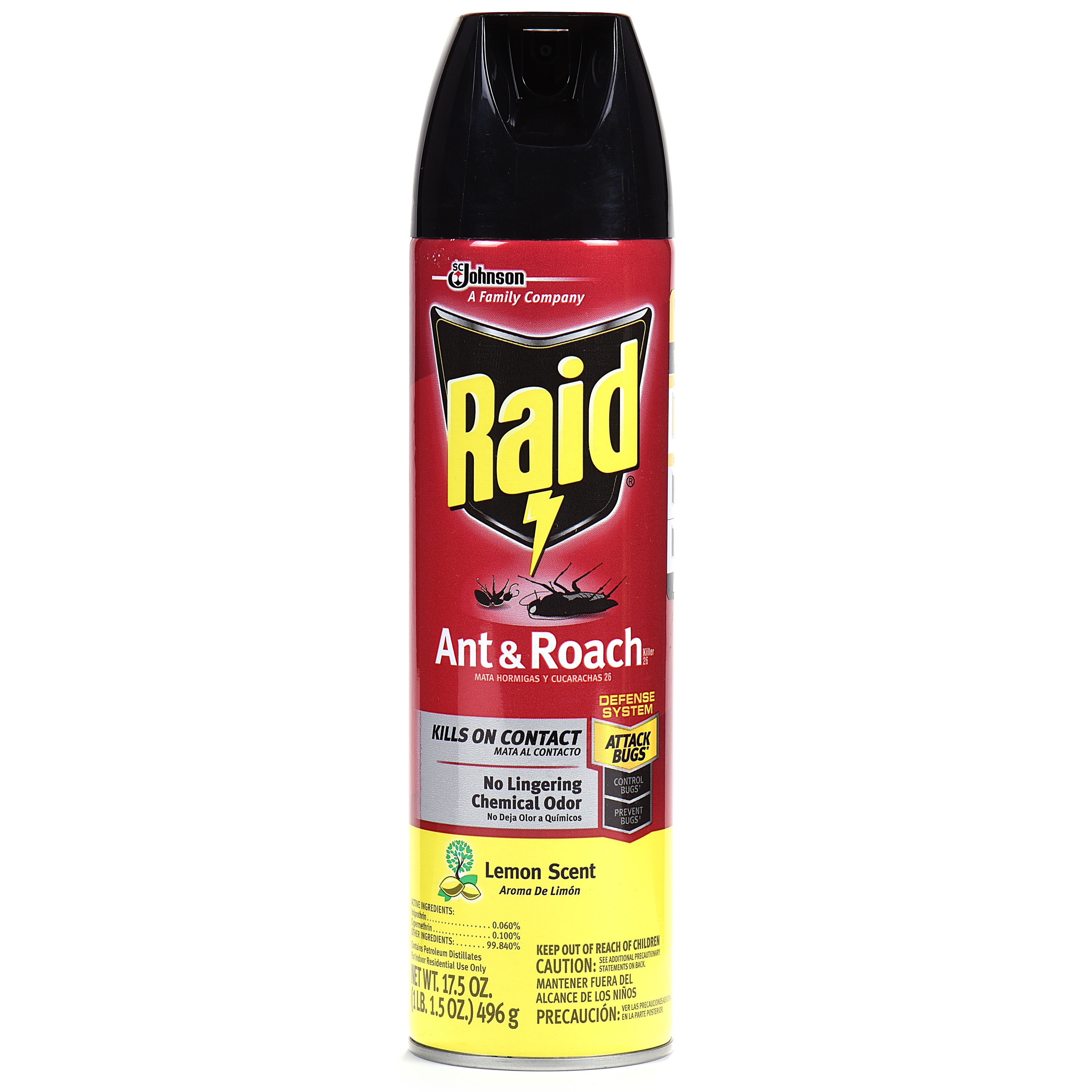 Raid® Ant & Roach Killer - Lemon Scent