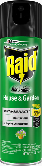 Raid® House & Garden Bug Killer