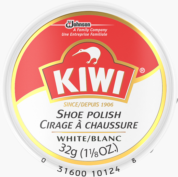 KIWI® Shoe Polish White
