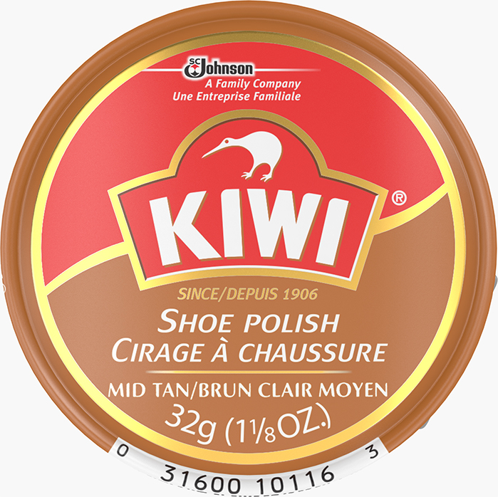 KIWI® Reg Paste Polish Mid Tan