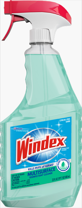 Windex® Multi-Surface Cleaner Rainshower