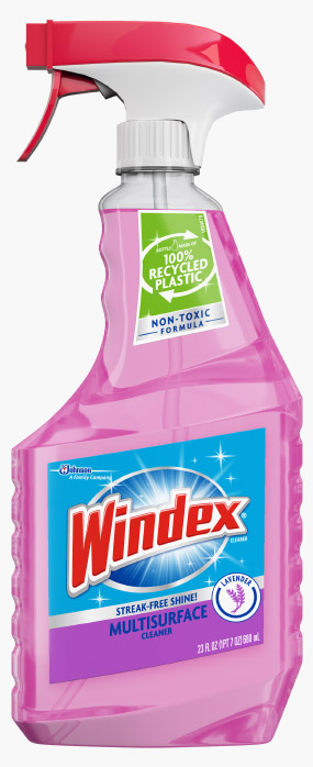 Windex® Multi-Surface - Glade® Lavender & Peach Blossom