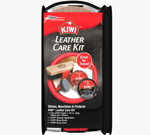 KIWI® Leather Care Travel Kit