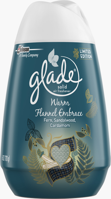 Glade® Solid Air Freshener - Warm Flannel Embrace