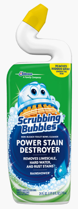 Scrubbing Bubbles® Power Stain Destroyer Toilet Bowl Cleaner - Rainshower®