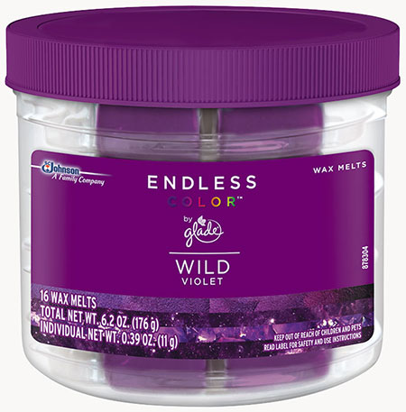 Glade® Endless Color™ Wax Melts - Wild Violet