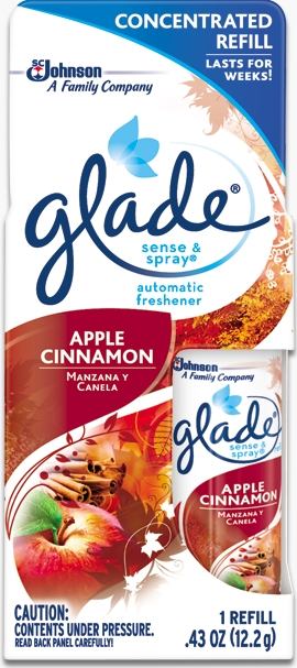 Glade® Sense & Spray® Refill - Apple Cinnamon
