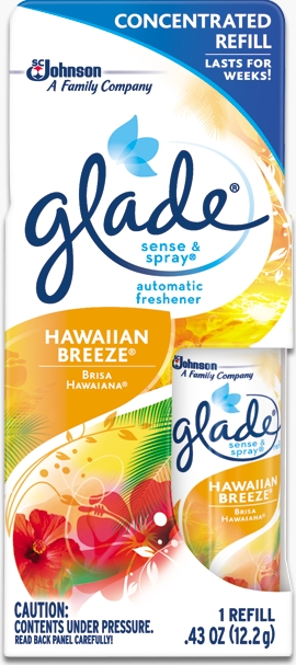 Glade® Sense & Spray® Refill - Hawaiian Breeze®