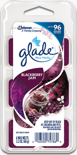 Glade® Wax Melts - Blackberry Jam