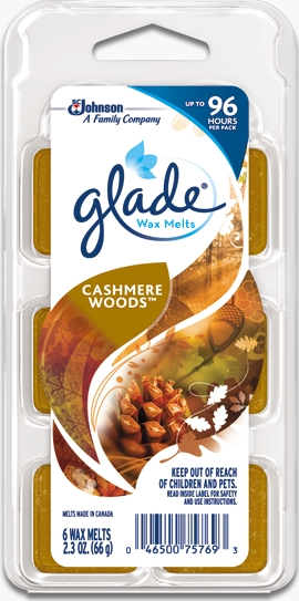 Glade® Wax Melts - Cashmere Woods®