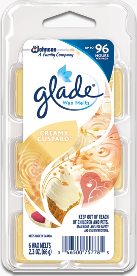 Glade® Wax Melts - Creamy Custard™