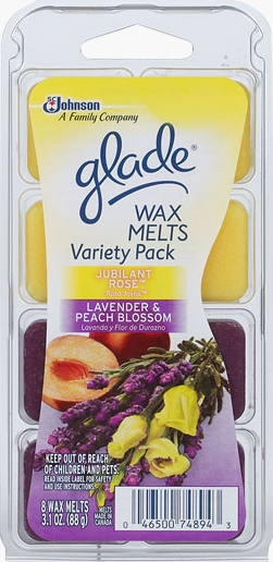 Glade® Wax Melts - Jubilant Rose™ and Lavender & Peach Blossom