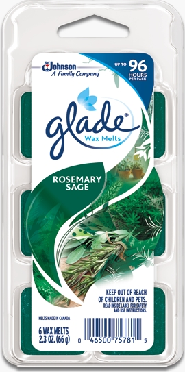 Glade® Wax Melts - Rosemary Sage