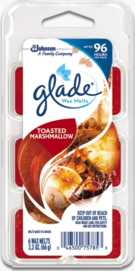 Glade® Wax Melts - Toasted Marshmallow