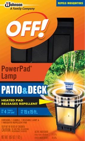 OFF!® PowerPad® Lamp : SC Johnson