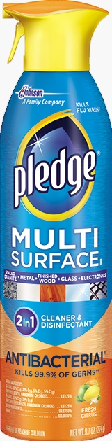 Pledge® Multi Surface Antibacterial Everyday Cleaner