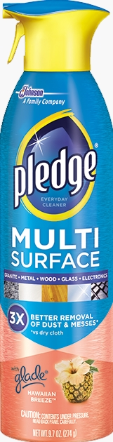 Pledge® Multi Surface Everyday Cleaner with Glade® Hawaiian Breeze™