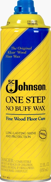 SC Johnson® One Step No Buff Wax