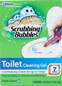 Scrubbing Bubbles® Toilet Cleaning Gel - Fresh Clean