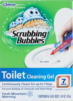 Scrubbing Bubbles® Toilet Cleaning Gel - Fresh Mountain Morning™