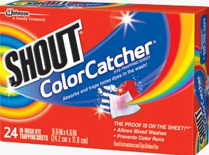 Shout® Color Catcher® Sheets