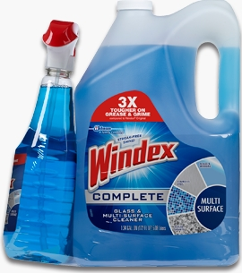 Windex® Complete Glass & Multi-Surface Cleaner (Discontinued)