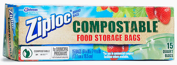 Ziploc® Brand Compostable Food Storage Bags